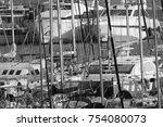 italy  sicily  mediterranean...   Shutterstock . vector #754080073