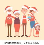 merry christmas and new year....   Shutterstock .eps vector #754117237