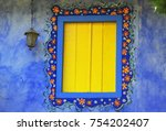 a flowery window