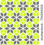 winter seamless pattern.  ... | Shutterstock .eps vector #754204333