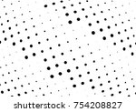 abstract halftone wave dotted... | Shutterstock .eps vector #754208827