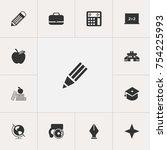 set of 13 editable education...
