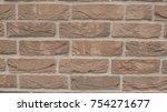 stone wall masonry   Shutterstock . vector #754271677