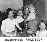 discharged german soldier fritz ... | Shutterstock . vector #754279327