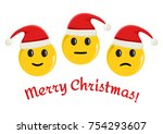 smileys emoticons icon in new... | Shutterstock .eps vector #754293607