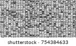 grunge background of black and...   Shutterstock . vector #754384633
