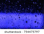 Dark Blue And Black Blurred...