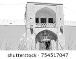 in iran antique palace and ...   Shutterstock . vector #754517047