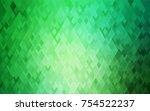 light green vector abstract... | Shutterstock .eps vector #754522237