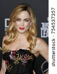 caity lotz at the world... | Shutterstock . vector #754537357