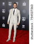 zachary levi at the world... | Shutterstock . vector #754537363