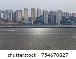 panoramic skyline and buildings ... | Shutterstock . vector #754670827