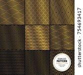 luxurious seamless pattern...