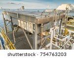 heat exchange fin tube type and ... | Shutterstock . vector #754763203