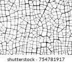 puzzle the cracks texture white ... | Shutterstock .eps vector #754781917