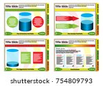 bright  colorful template slide ... | Shutterstock .eps vector #754809793
