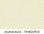vintage pattern art design   Shutterstock .eps vector #754820923