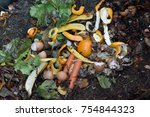 inside of a composting container | Shutterstock . vector #754844323