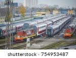 moscow  russia  oct 26  2017 ... | Shutterstock . vector #754953487