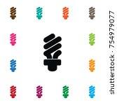 isolated light icon.... | Shutterstock .eps vector #754979077