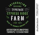 Cypress Ridge Farm. Hand Made...