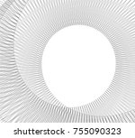 abstract 3d architecture | Shutterstock .eps vector #755090323