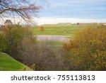 the plains of abraham historic... | Shutterstock . vector #755113813