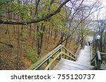 the plains of abraham historic... | Shutterstock . vector #755120737