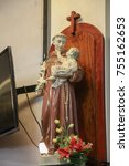 Small photo of Saint Anthony statue
