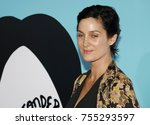 carrie anne moss at the los... | Shutterstock . vector #755293597