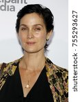 carrie anne moss at the los... | Shutterstock . vector #755293627