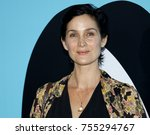 carrie anne moss at the los... | Shutterstock . vector #755294767