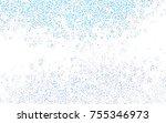 light blue vector of small... | Shutterstock .eps vector #755346973