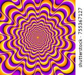 orange and purple  background... | Shutterstock .eps vector #755367127