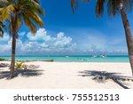 view to playa norte  the...   Shutterstock . vector #755512513