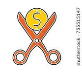general expenses vector icon | Shutterstock .eps vector #755515147