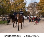 paris  france    november 3 ... | Shutterstock . vector #755607073