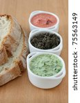 Spinach  Pepper And Olive Dips...
