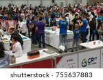 Small photo of San Jose, Costa Rica - November 12, 2017: The largest Robotics Competition in Costa Rica for students around the world between the age group of 9 to 25 years called WRO Costa Rica 2017 World Robot Oly