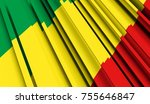 fragment flag of republic of... | Shutterstock . vector #755646847