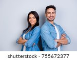 concept of multiethnic... | Shutterstock . vector #755672377