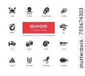 Seafood Concept   Line Design...