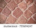 Texture Of A Cobblestone...