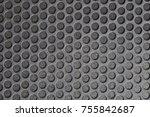 metal mesh of speaker grill...   Shutterstock . vector #755842687