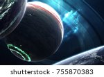 Colossus Gas Giant With Small...