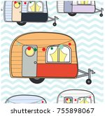 seamless pattern cute adorable...