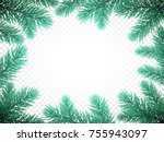 christmas holiday greeting card ...   Shutterstock .eps vector #755943097