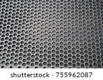 metal mesh of speaker grill...   Shutterstock . vector #755962087