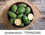 Tropical Fruit Feijoa . Health...