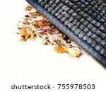 sweep under the carpet.image of ... | Shutterstock . vector #755978503